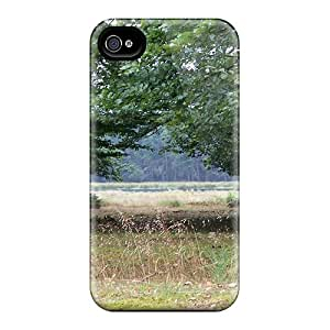 New Trees In The Heath Tpu Skin Case Compatible With Iphone 4/4s