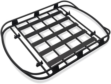 Amazon Com Barricade Roof Rack Basket In Textured Black