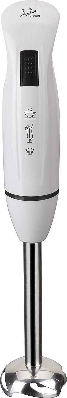 Jata BT126 Batidora de Varilla con Pie Desmontable de Acero Inoxidable Cuchilla de Gran Solidez Pulsador de Funcionamiento 400 W