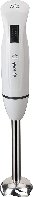 Jata BT126 Batidora de brazo, 400 W, 0 Decibelios, Plástico, blanco