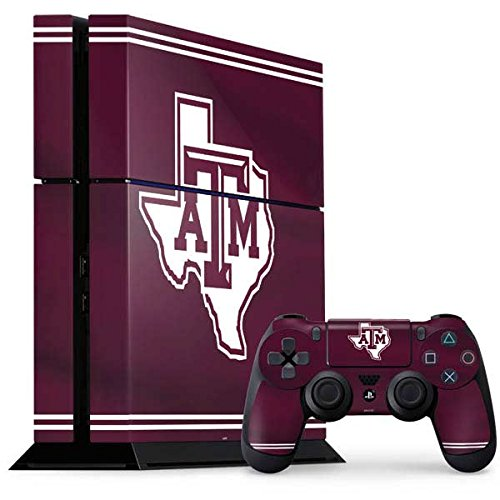 Texas A M University Ps4 Console And Controller Bundle Skin   Texas A M Alternative   Schools   Skinit Skin