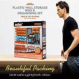 HORUSDY 44-Piece Garage Storage Parts Bins, Wall