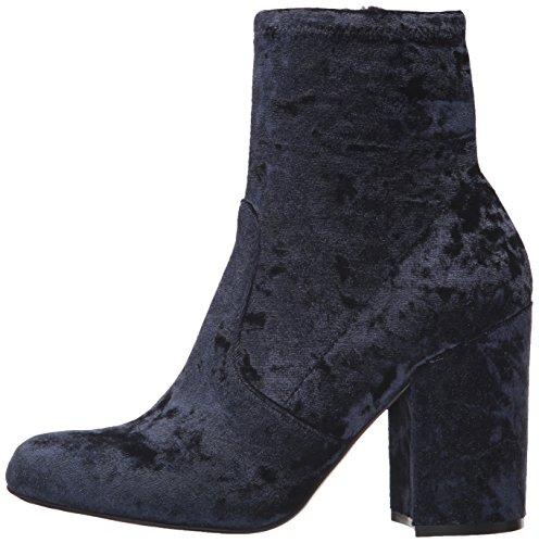 Women''s Velvet Boots Navy Steve Madden Ankle Gaze 5gBYwnqxSZ