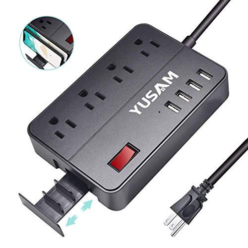 🥇 Power Strip with 4 USB Ports