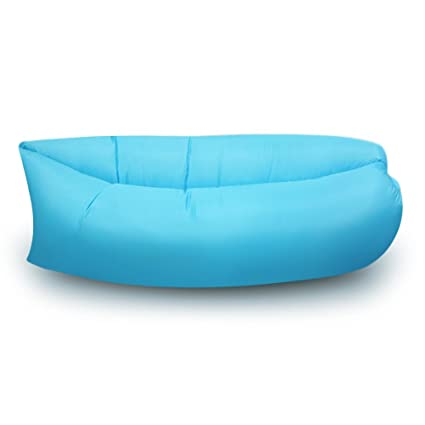 Amazon.com: Blusmart Air tumbona Hangout hinchable para ...