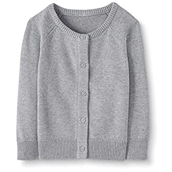 Moon and Back by Hanna Andersson Baby/Toddler Girls' Organic Cardigan Sweater