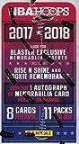 2017-18 Panini Hoops Basketball 11ct Blaster Box
