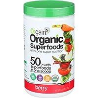 Orgain Organic Superfoods, Berry, Vegan 0.62 Pound
