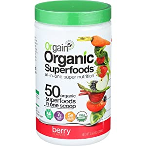 Orgain Organic Superfoods, 2 Flavors, 0.62 Pound, 1 Count