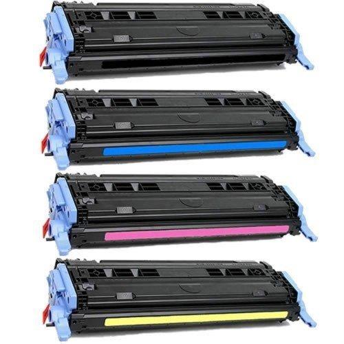 HO Sup OEM Toner HP 124A (Q6000A, Q6001A, Q6002A, Q6003A) Toner Cartridge Set for HP Color Laserjet 1600, 2600n Series Printer (SET) ()