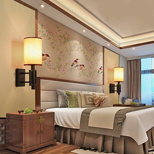 Wandleuchte Modernes einfaches Schlafzimmer Nachttisch Wandleuchte Wohnzimmer Restaurant Hotel Korridor Wandleuchte E14 Wandbeleuchtung