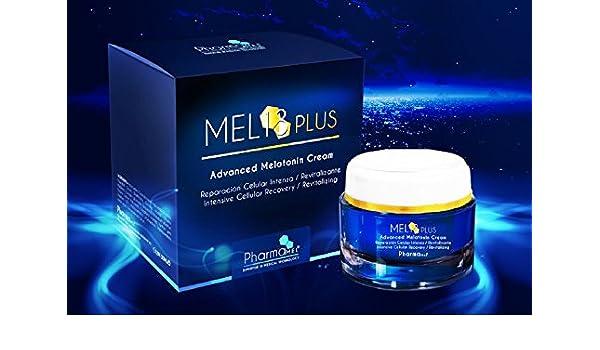 Crema facial antiarrugas de Melatonina revolucionario tratamiento intensivo día o noche, patente mundial: Amazon.es: Belleza