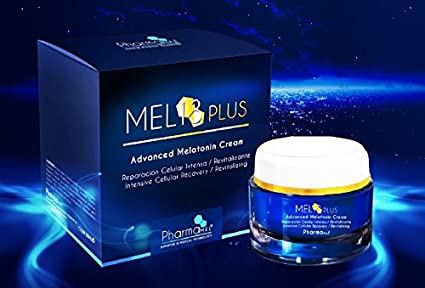 Crema facial antiarrugas de Melatonina revolucionario tratamiento intensivo día o noche, patente mundial