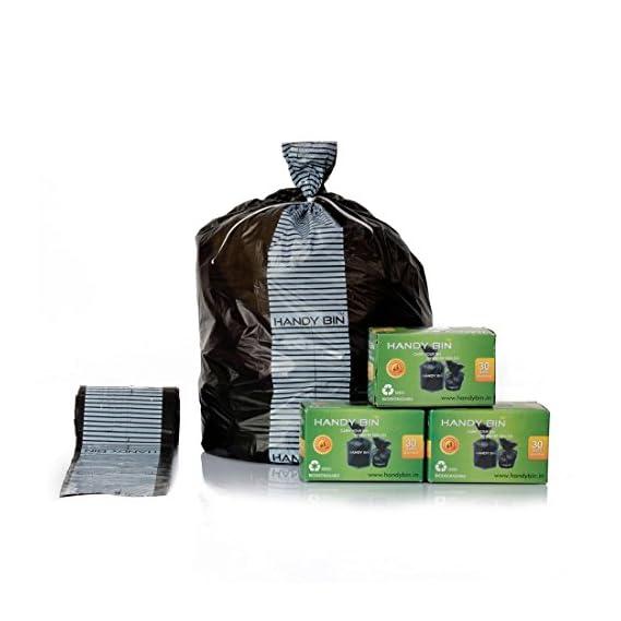HandyBin Diaper Disposal Bags/Sanitary PAD Disposal Bag/Condom Disposal Bags/FACE MASK, Gloves Disposal Bags/CAR DUSTBIN