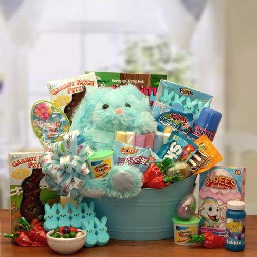 (Fun Easter Basket - Sweet Pete's Rockin Treats! Easter Gift Basket for Boys)