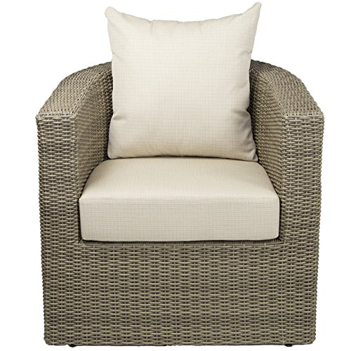 Ohana outdoor patio wicker furniture curved chair - Merax Outdoor Garden Furniture Set 4 Piece Patio Pe Rattan