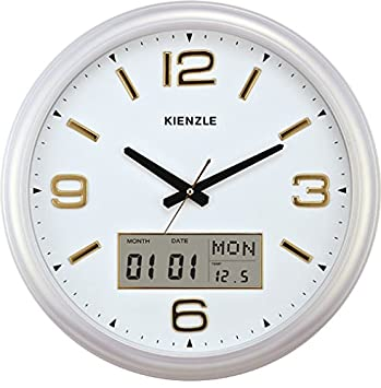 49635cb7874 Relógio De Parede Exclusive Line 04 D44 com mecanismo silencioso Kienzle  44cm