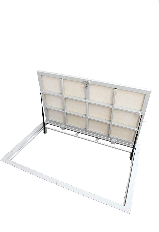 Schachtabdeckung 700mm x 1200mm - Seitenscharniere Bodenluke Schachtdeckel Revisionsschacht Kanalschacht P