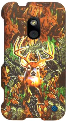 Cell Armor Snap Case for Nokia Lumia 620 - Retail Packaging - A Hunter Series with Deer