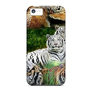 Hot New My Tiger Collage Cases Covers For Iphone 5c With Perfect Design