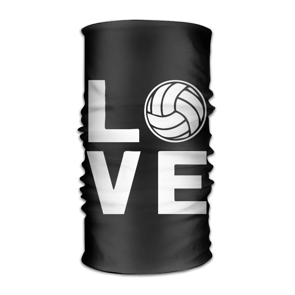Love Volleyball Fashion Style Riding On A Motorcycle Multifunctional Magic Headkerchief