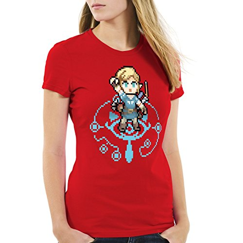 Breath Zelda Red Hormiga Wild The Switch Ocarina Snes Link Of Camiseta para mujer w0qgf