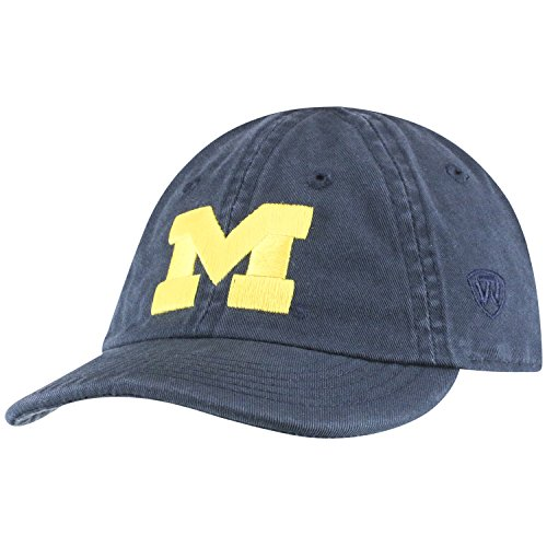 Top of the World Michigan Wolverines Infant Hat Icon, Navy, Adjustable (Best Michigan Small Towns)