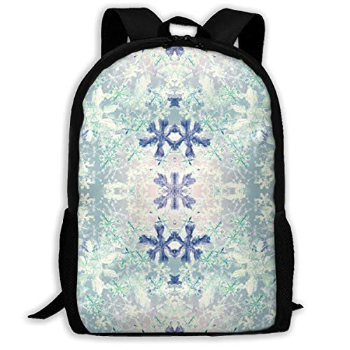 JIFHS Ice Cristal Fabric (8332) Backpack Travel Bag College School Daypack for Women, Girls & Student