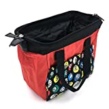 Tapp Collections Bingo Dauber 6 Pockets Tote Bag - Red