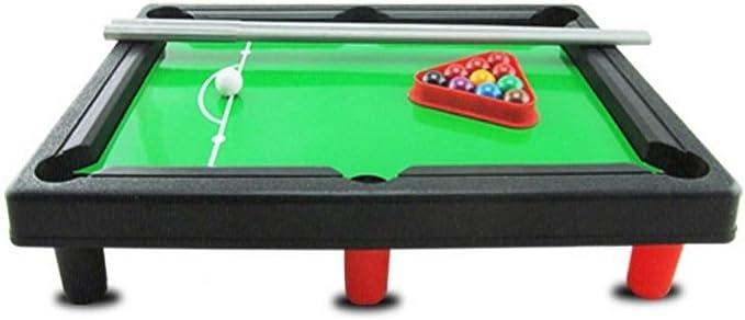 KingbeefLIU Mini Billar Snooker Home Party Juego De Mesa Familia Niños Interacción Toy Workout At Home Kids Play House Early To Teach Diversión Juguetes Billar Americano: Amazon.es: Hogar