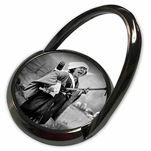 3dRose Scenes from the Past Magic Lantern Slides - Vintage Japanese Geisha Playing the Shamisen or Three String Banjo - Phone Ring (phr_246570_1) - Slide Banjo
