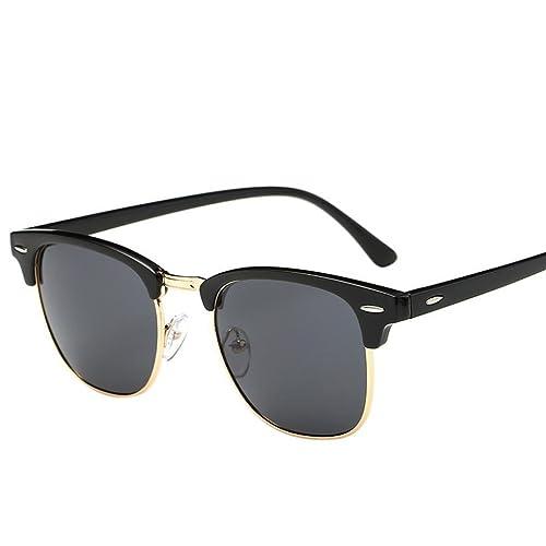SMARTLADY Gafas de sol retro Clásicos para hombre y mujer