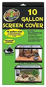 Amazon Com Zoo Med Screen Cover For 10 Gallon Tanks