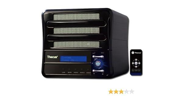 Thecus M3800 NAS Server Windows 7