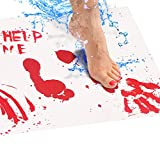 Bloody Bath Mat – Color Changing Mat Really Turns