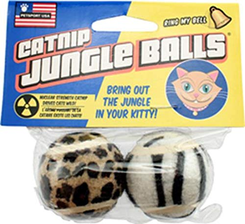 (PetSport Catnip Jungle Balls 2 Pack)