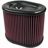 S&B Filters KF-1062 Cold Air Intake Replacement Filter (Cotton Cleanable)