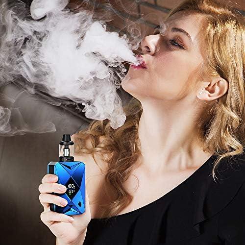 Cigarrillo Electrónico,E Cigarette Goblin 100w,e cig Batería recargable de 2000 mah, Enorme Kit de Vape con pantalla,Sin Nicotina y Sin E-líquido: Amazon.es: Salud y cuidado personal