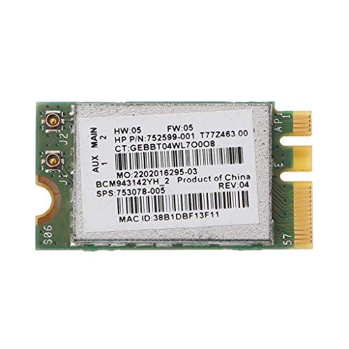 BYNNIX BCM943142Y 802.11b/g/n Bluetooth 4.0 WLAN 150Mbps NGFF Wireless WiFi ()