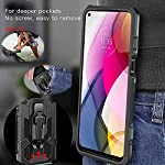Bounceback Rubber Stand Back Cover Case for Mi 11X / Mi 11x Pro  Without Screen Protector - Green