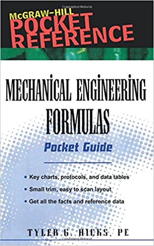 Mechanical Engineering Formulas Pdf