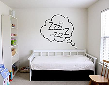 4537bdecc21 Dream Decor Bedroom Design Wall Sticker 76.2cmX76.2cm available at Amazon  for Rs.