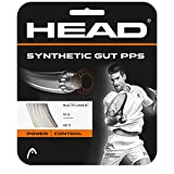 HEAD Synthetic Gut PPS White Colored Multifilament Tennis Racquet String Sets – 16/17 Gauges – in Multi-Packs – Best for Comfort and Power (2-4-6-8-Packs)