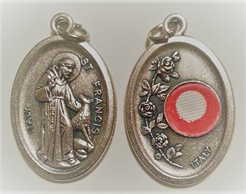 (St. Francis of Assisi Relic Medal)
