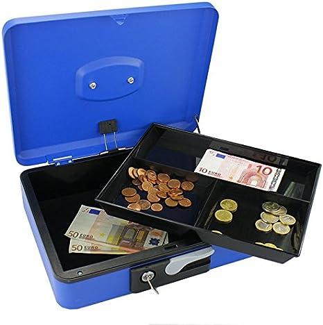 Gran Caja para monedas y billetes 30 cm, función de Fácil apertura ...
