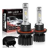 f150 2012 headlights - SEALIGHT H13/9008 LED Headlight Bulbs Conversion Kit, DOT Approved, Dual High/Low Beam, X1 Series Xenon White 6000K, 1 Yr Warranty (Pack of 2)