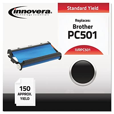 Fax Toner Cartridge for Brother IntelliFax 575 (Compatible) Black (IVRPC501)