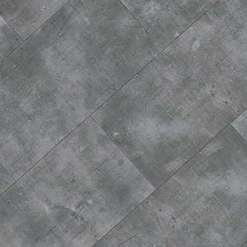 FTW Click 100% wasserdicht Vinyl Fliesen grau Beton Stein ...