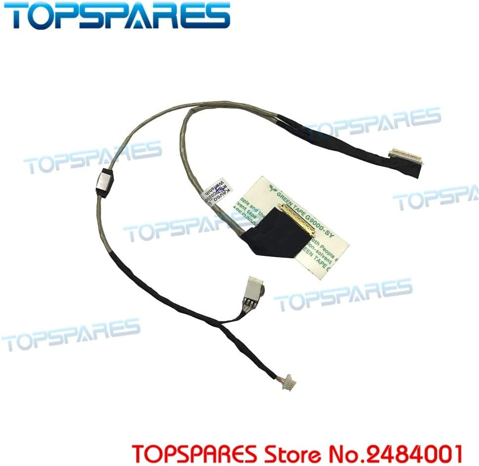 Connectors New Laptop Display Cable for Acer Aspire One D250 AOD250 KAV60 Series DC02000SB10 Flex Video Cable Cable Length: DC02000SB10