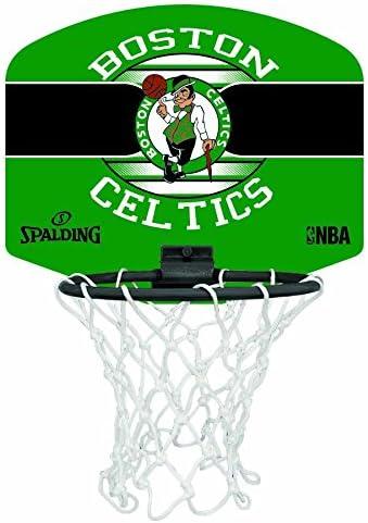 Spalding NBA Miniboard Boston Celtics 77-651Z Minicanasta, Unisex ...